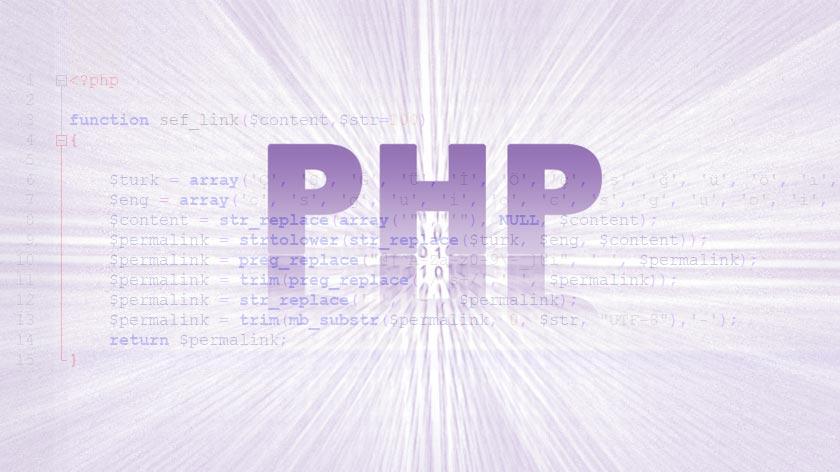 php sef link fonksiyonu
