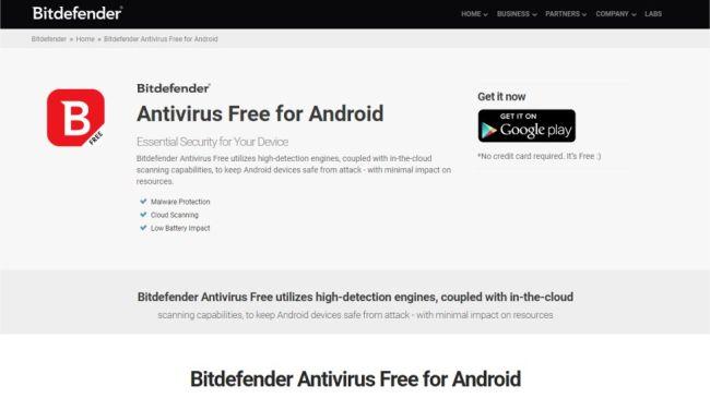 Bitdefender Antivirus Ücretsiz